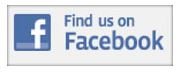 Facefbook Icon. Find us on Facebook.